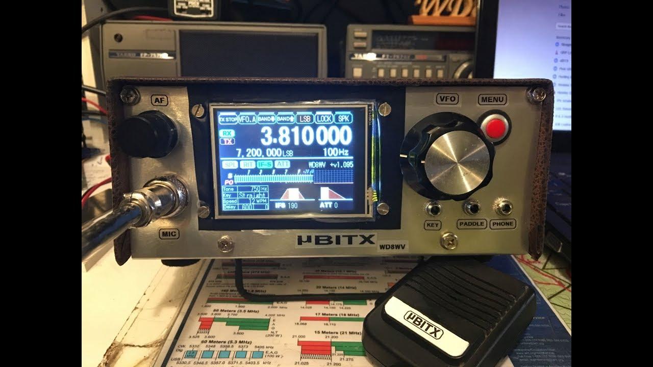 Ubitx 10 - 80 Cw  Ssb Transceiver - Updated
