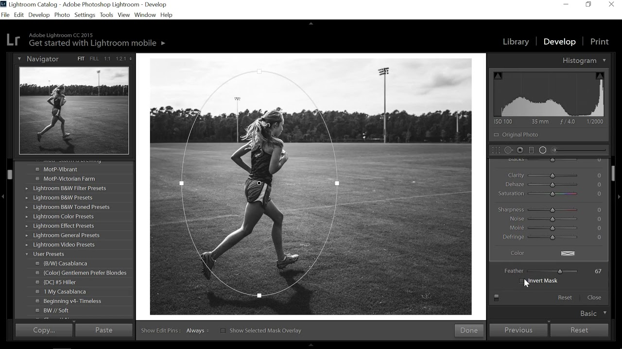 How i edit high contrast black and white photos by dana ball