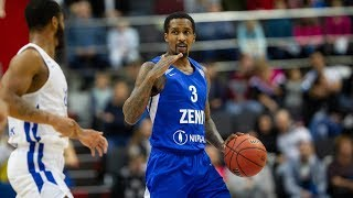Brandon Jennings Highlights 20 Pts, 13 Ast vs Enisey 03.11.2018