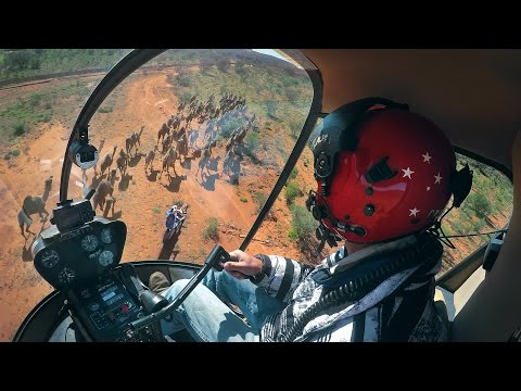 GoPro Moto: A Dirt Bike, A Helicopter, And Camels In Australia With Toby Price