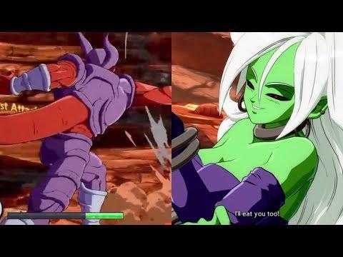 Dragon Ball FighterZ Matoi (Android 21 Goku Bardock) Vs DBZ (Janemba Goku Bardock) Replay