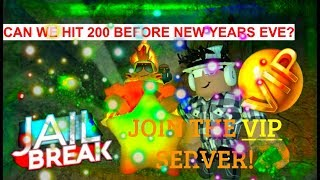 Happy new year!!| Roblox Jailbreak Live Stream