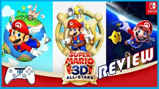 Super Mario 3D All-Stars Review...Now that's a Collection (Video Game Video Review)