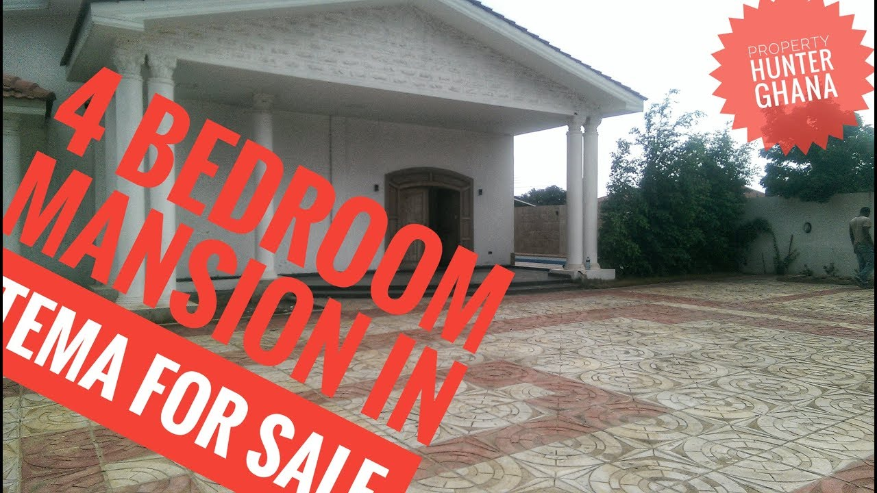 4 bedroom house in tema community 18 ghana for sale