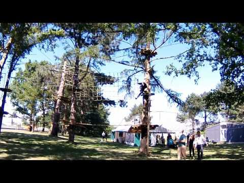 GoMonkey klatrepark i Gladsaxe - slip din indre abe fri