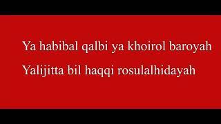 YA HABIBAL QOLBI lirik