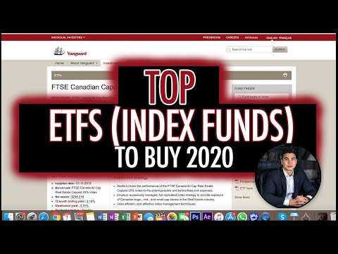 TOP ETFs (INDEX FUNDS) TO BUY IN 2020