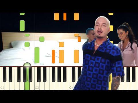 I Can&39;t Get Enough - Benny Blanco Tainy Selena Gomez J Balvin - Piano - Synthesia