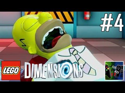 HOMER SIMPSON E' NEI GUAI! - LEGO DIMENSIONS #4 (ITA) (HD)