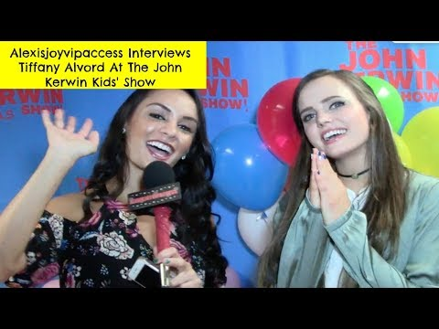 Tiffany Alvord Interview With Alexisjoyvipaccess - John Kerwin Kids' Show
