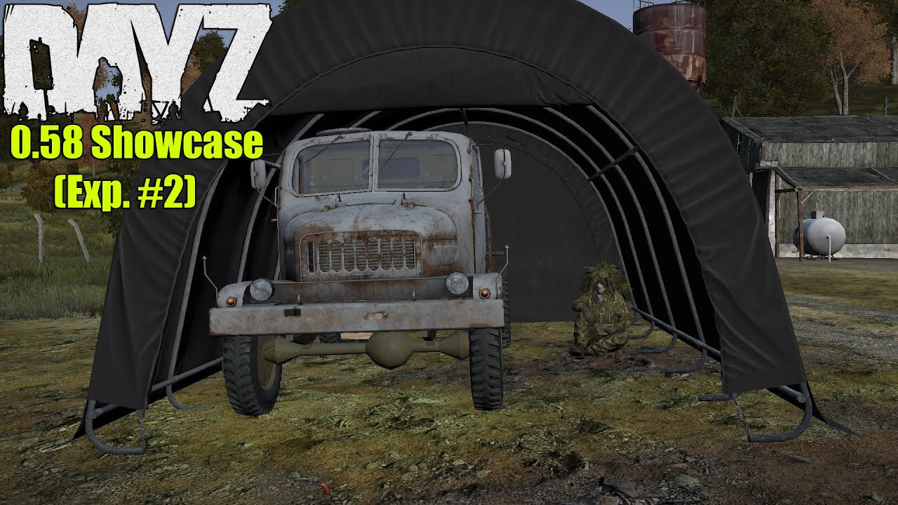 DayZ Standalone 0.58 Showcase; Car Tent Barrels Truck Battery u0026 More! [0.58 Exp. Update #2] - YouTube & DayZ Standalone: 0.58 Showcase; Car Tent Barrels Truck Battery ...