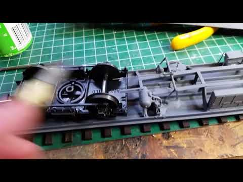 Easy build Mark1 Coach kits in O Gauge for West Green