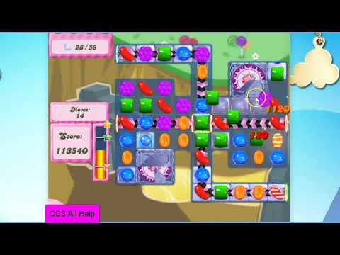 Candy Crush Saga Level 2853 NO BOOSTERS Cookie
