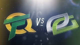 FLY vs OPT - NA LCS Week 5 Day 2 Match Highlights (Spring 2018)