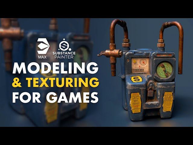 Modeling & Texturing Props for Games - Trailer