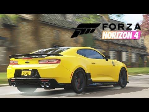 995HP Camaro ZL1 vs The Colossus  Fully Built #1   Forza Horizon 4