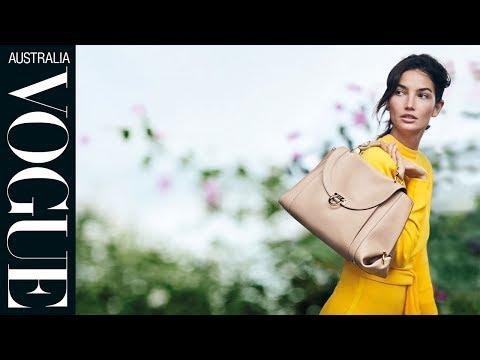 Salvatore Ferragamo's spring campaign starring Lily Aldridge