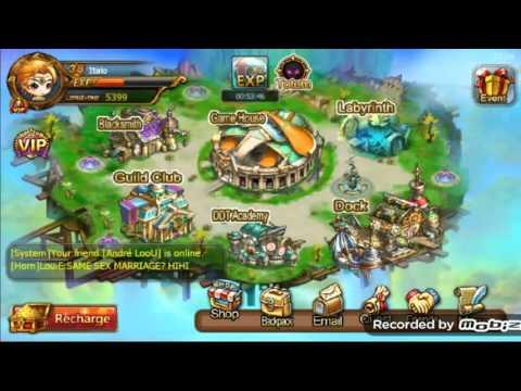 Gift code,pedras no Labirinto, E como upar rápido   DDtank Mobi (From SamGamer Br)