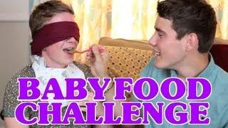 Disgusting Baby Food Challenge (ft. Alfie Deyes) | Tyler Oakley