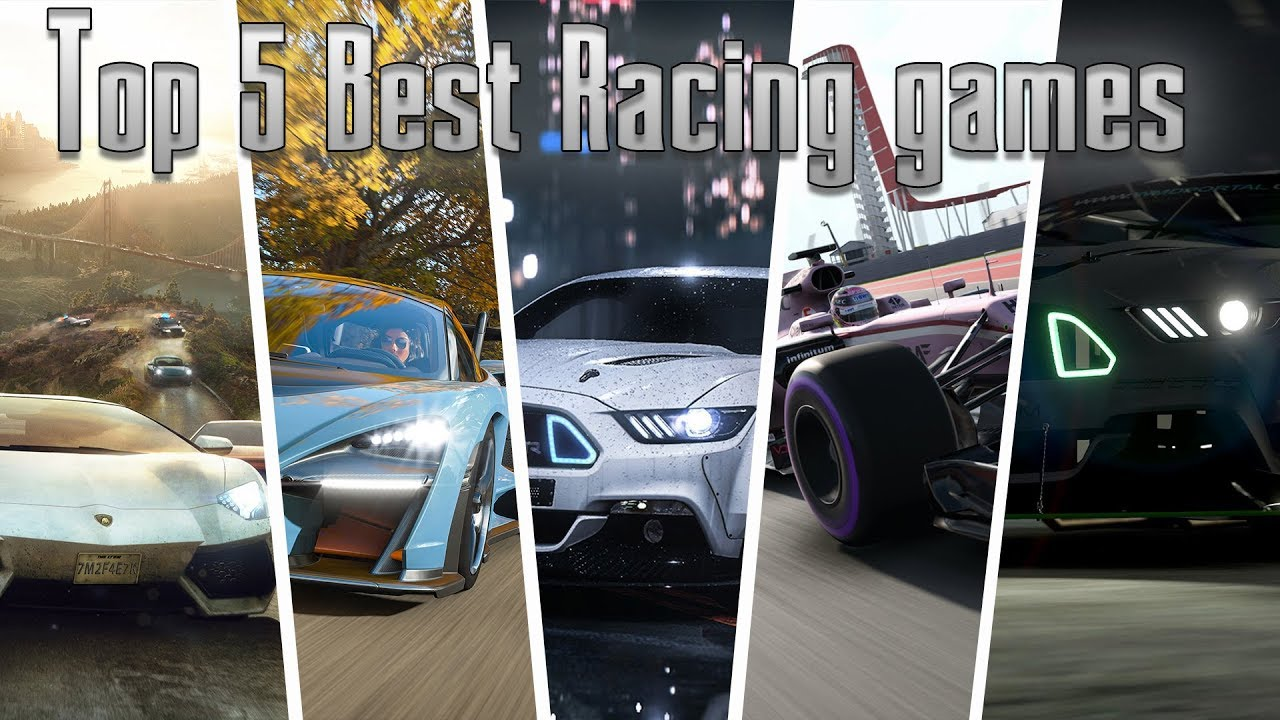 Top 5 Best Realistic Racing Games Pc Xbox One Ps4
