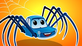 Zeek And Friends | Incy Wincy Spider | Kids Car Nursery Rhymes & Songs