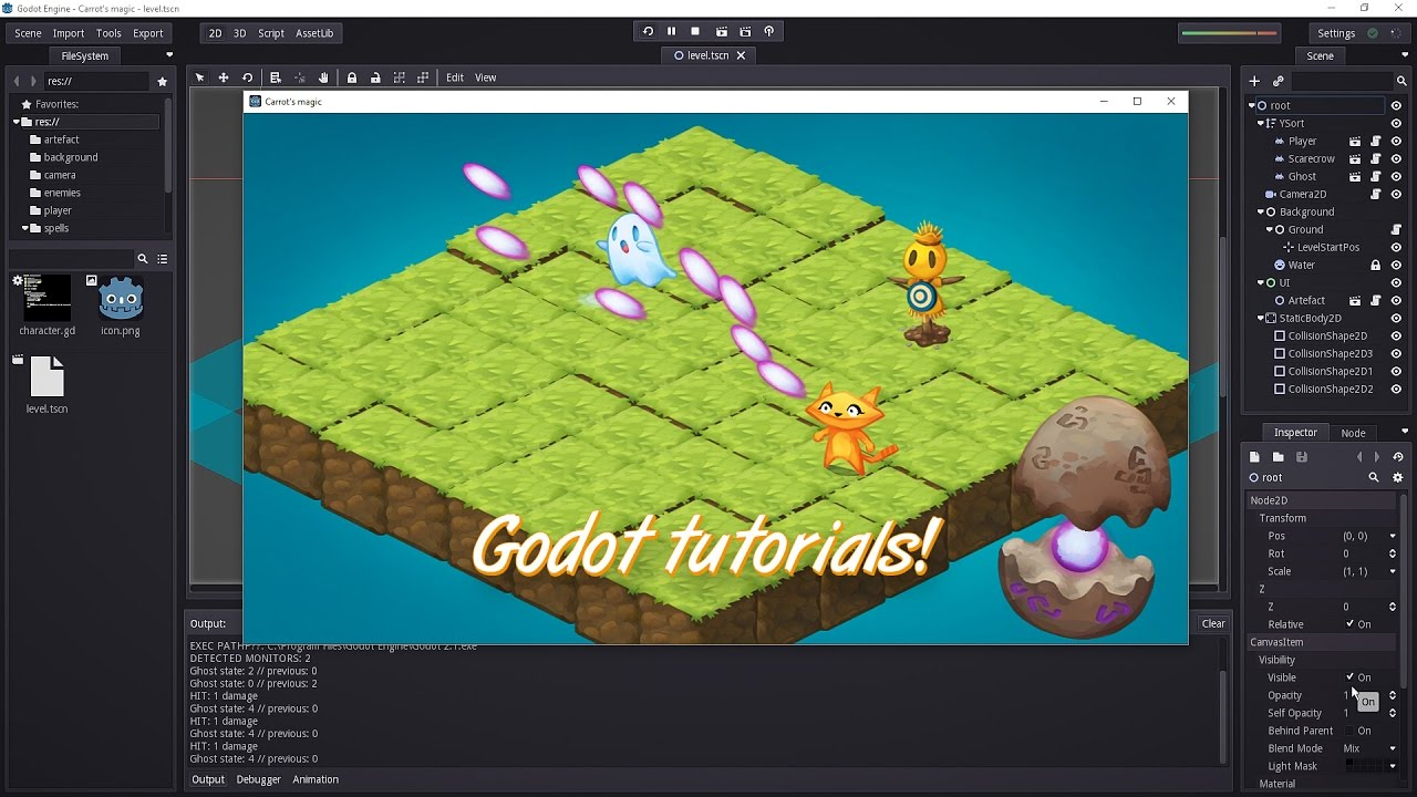 Godot tutorials next Thursday!