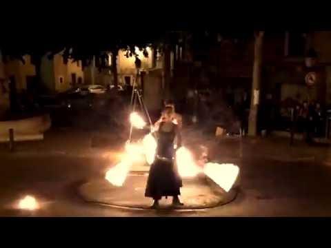 CIRQUE INDIGO, Spectacle de feu : FUEGO