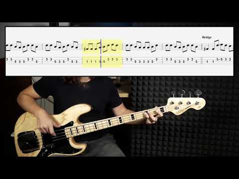 The Offspring - Why Don't You Get A Job (bass cover with tabs in video)