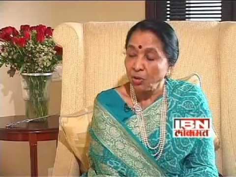 asha bhosle interview part1