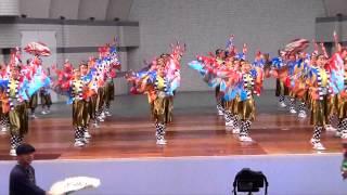第13回原宿表参道元氣祭、スーパーよさこい2013 二日目、じまん市ステー...