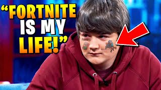 Kid thinks he LIVES in FORTNITE (Dr.Phil)