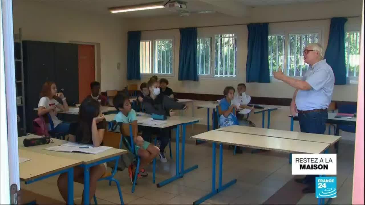 Covid-19 : retour en classe pour une partie des élèves de Nouvelle-Calédonie