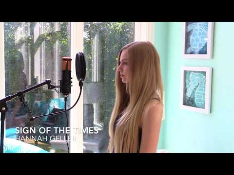 Sign of the Times (Cover) - Hannah Geller
