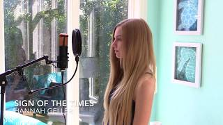 Download Sign of the Times (Cover) - Hannah Geller MP3 song and Music Video