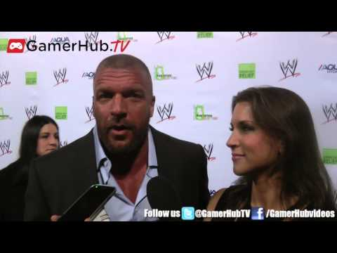Triple H & Stephanie McMahon Share The Secret To Their Marriage - Gamerhubtv