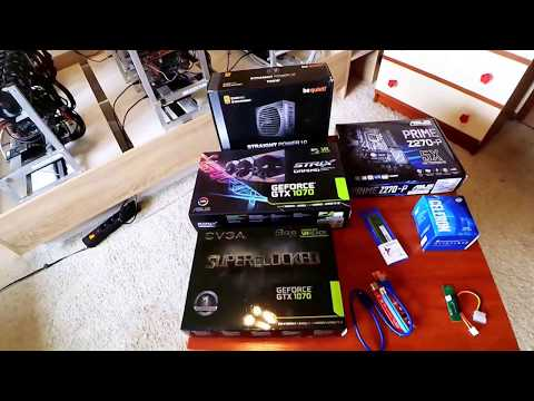 Cryptocurrency Mining Rig 1070 Nvidia - Parts