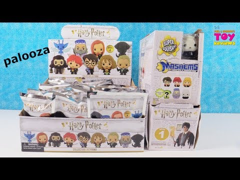 Harry Potter Mashems Squishies & Collectors Keyrings Full Box Opening Blind Bag Review | PSToyReview