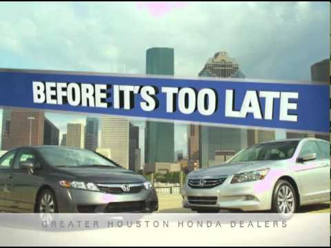 The Greater Houston Honda Dealers   The Time Is Now
