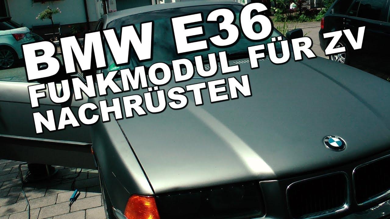 diy bmw e36 funkmodul f r die originale zv youtube. Black Bedroom Furniture Sets. Home Design Ideas