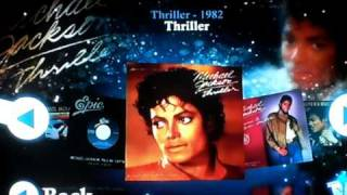 Michael Jackson The Experience: Song Menu
