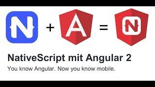 Native Mobile Apps mit NativeScript und Angular