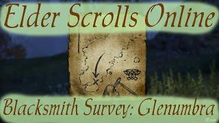 Blacksmith Survey: Glenumbra [Elder Scrolls Online]