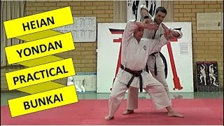 Heian Yondan Practical Applications: Full-Length Instructional Video