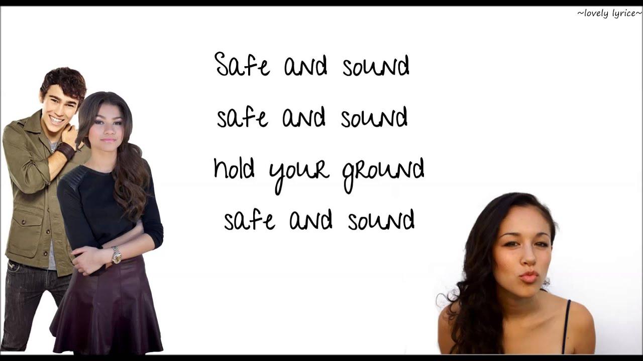 Safe and sound capital cities lyrics