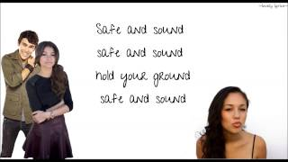Safe and Sound - Capital Cities (ft. Zendaya, Kina Grannis, Max Schneider) - lyrics!