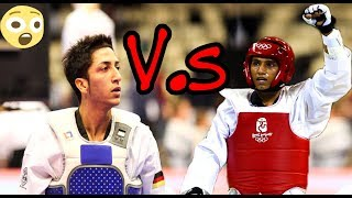 Taekwondo : Servet TAZEGUL(Turkey) VS Levent TUNCAT(German) highlights 2018