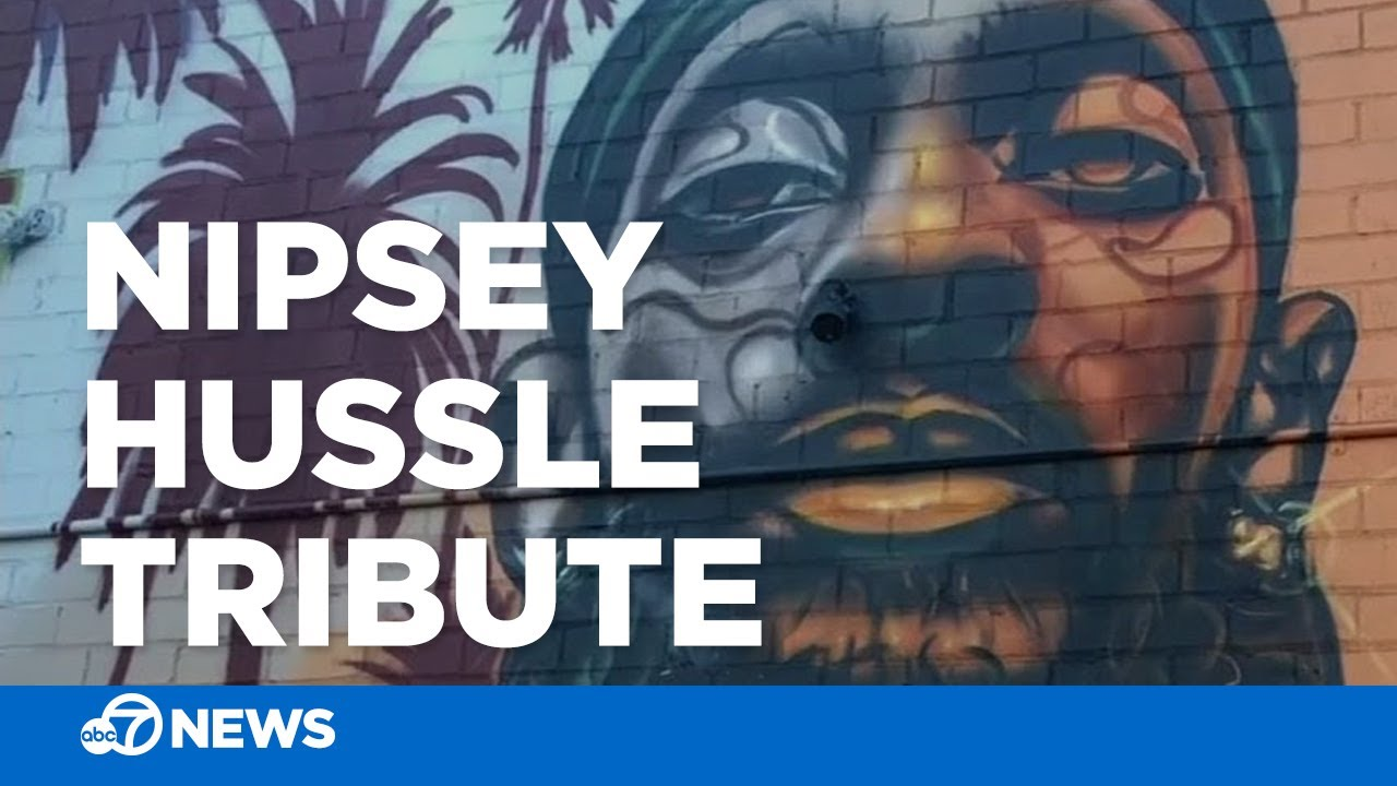 Oakland unveils new mural paying tribute to rapper Nipsey Hussle
