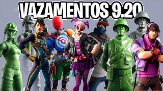 NEW SKINS, DOUBLE PICKS, GLIDERS, EMOTES AND TOY STORY? LEAKS 9.20-Fortnite