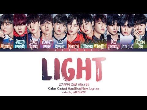 Wanna One (워너원) - Light (켜줘) (Color Coded Lyrics Eng/Rom/Han)