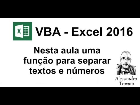 VBA - Excel 2016 - Creating a function to separate text and numbers